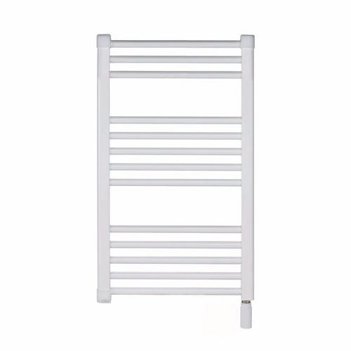 Elnur 150W White Heated Towel Rail With Thermostat  - Click to view a larger image