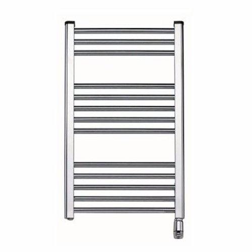 Elnur 150W Chrome Heated Towel Rail With Thermostat  - Click to view a larger image