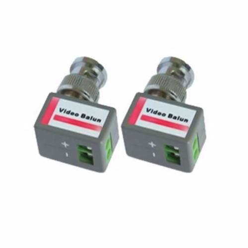 OYN-X BNC Right Angle Passive Video Balun Pair For CCTV Over LAN Ethernet Network Cable  - Click to view a larger image