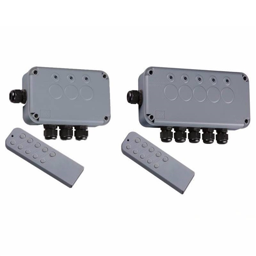 KnightsBridge Remote Controlled IP66 Weatherproof Outdoor Switch Box  - Click to view a larger image