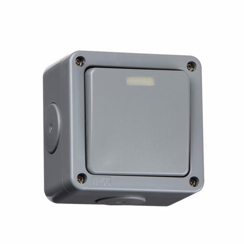 SMJ Electrical Outdoor IP66 2 way 240V Switch 2 way 2 Gang