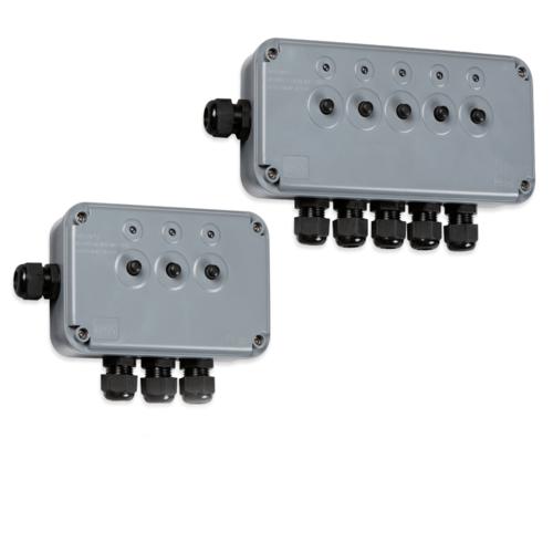 Knightsbridge Ip66 Weatherproof Outdoor Push Switch Box