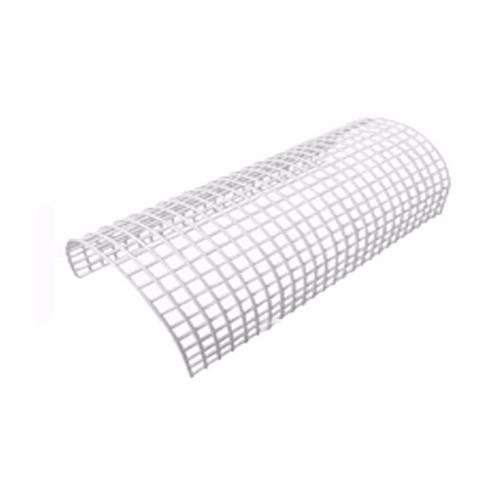 Greenbrook White Wire Rounded Tubular Heater Guard Protection  - Click to view a larger image