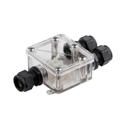 KnightsBridge IP68 3 Way 3 Core 5-14mm Waterproof Cable Connector Junction Box  - Click to view a larger image