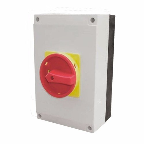 ESR 125A 4 Pole 230V-415V Large IP65 Industrial Rotary Isolator  - Click to view a larger image