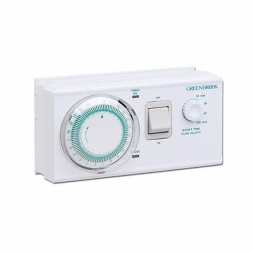 Greenbrook Economy 7 Dual Tariff 7 Day Water Heater Controller Timer with Boost  - Click to view a larger image