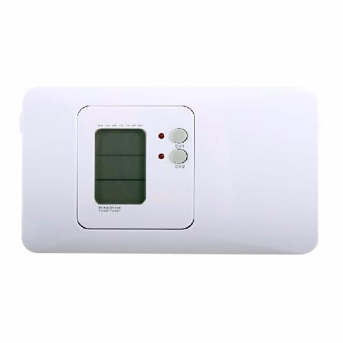 Greenbrook 1 or 2 Channel Central Heating Lighting Timer with Boost & Advance  - Click to view a larger image