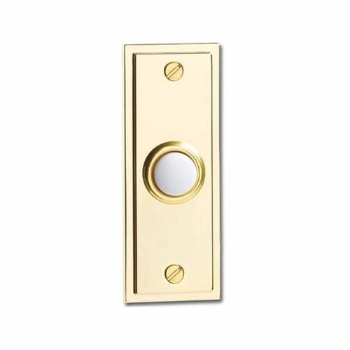 Compare prices for Greenbrook Wired Polished Brass Decorative Bell Push Doorbell Switch Transmitter