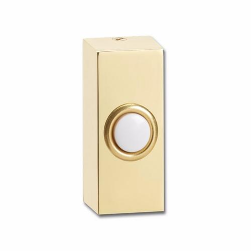 Compare prices for Greenbrook Wired Deep Polished Brass Decorative Bell Push Doorbell Switch Transmitter