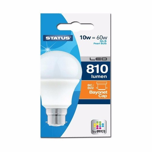 Compare prices for Status 10W LED GLS Bulb - Bayonet Cap