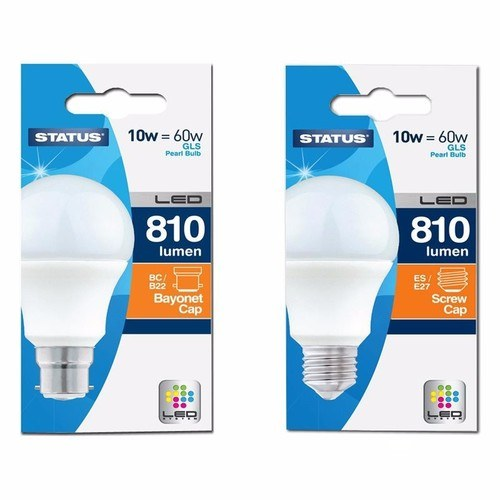 Status 10W Warm White Retrofit LED GLS Light Bulb  - Click to view a larger image