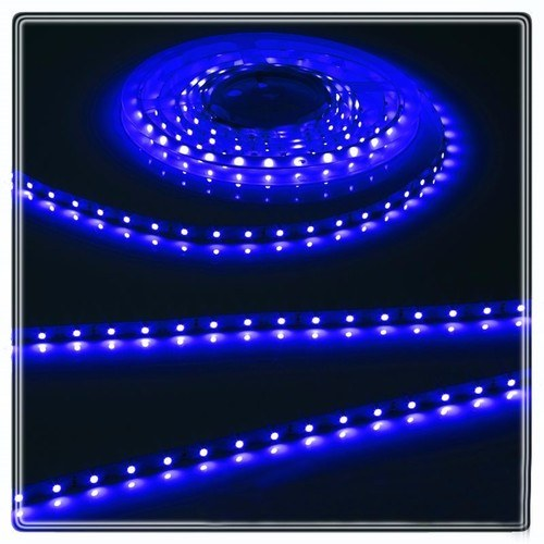 KnightsBridge Blue 12V LED IP20 Flexible Indoor Internal Rope Lighting Strip  - Click to view a larger image