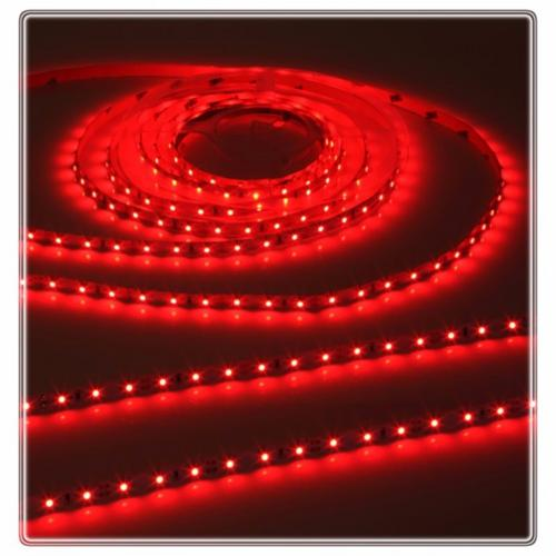 KnightsBridge Red 12V LED IP20 Flexible Indoor Internal Rope Lighting Strip - 5 Meter  - Click to view a larger image