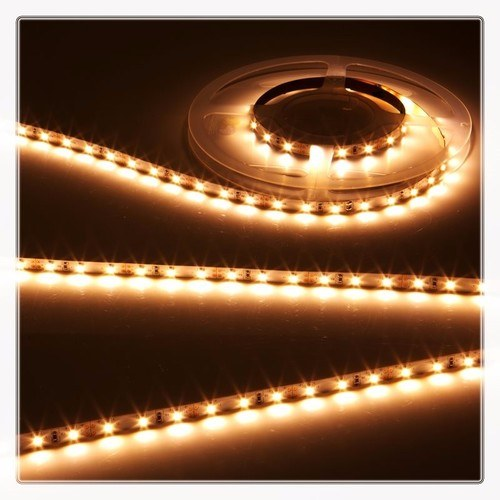 KnightsBridge Warm White 12V LED IP67 Flexible Outdoor Rope Lighting Strip - 5 Meter  - Click to view a larger image