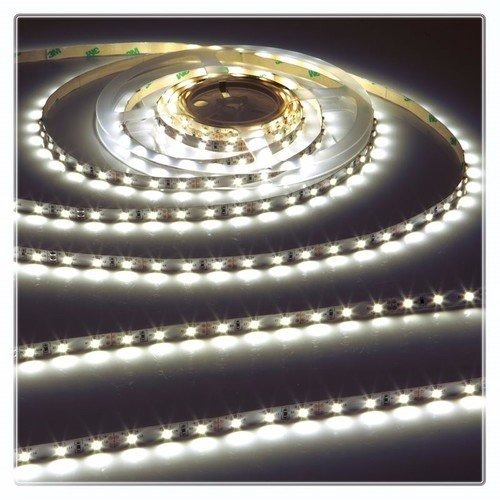 KnightsBridge Cool White 24V LED IP20 Flexible Indoor Rope Lighting Strip - 20 Meter  - Click to view a larger image