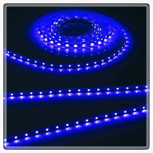 KnightsBridge Blue 24V LED IP20 Flexible Indoor Rope Lighting Strip - 20 Meter  - Click to view a larger image