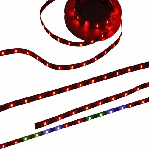 KnightsBridge RGB Colour Changing 24V LED IP20 Flexible Indoor Rope Lighting Strip - 3 Meter  - Click to view a larger image