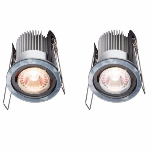 KnightsBridge ProKnight Fixed 8W IP65 LED Downlight With No Bezel  - Click to view a larger image