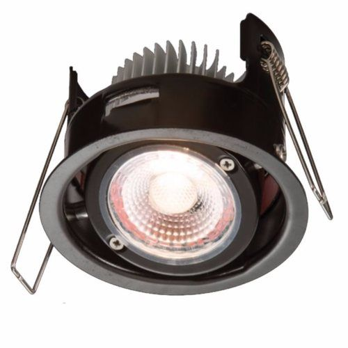 KnightsBridge ProKnight Tilted 8W IP65 LED Downlight With No Bezel Knightsbridge VFR8TCW - ProKnight Cool White Fire Rated Tilt Downlight - Click to view a larger image
