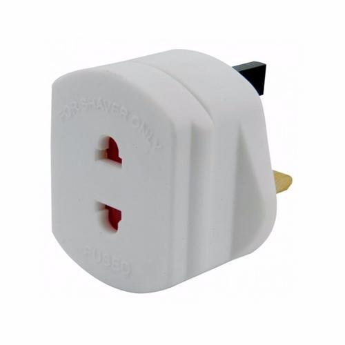 Mercury UK Mains To 2 Pin Shaver Socket Toothbrush Adaptor Plug Mercury UK Mains To Shaver Adaptor - Click to view a larger image