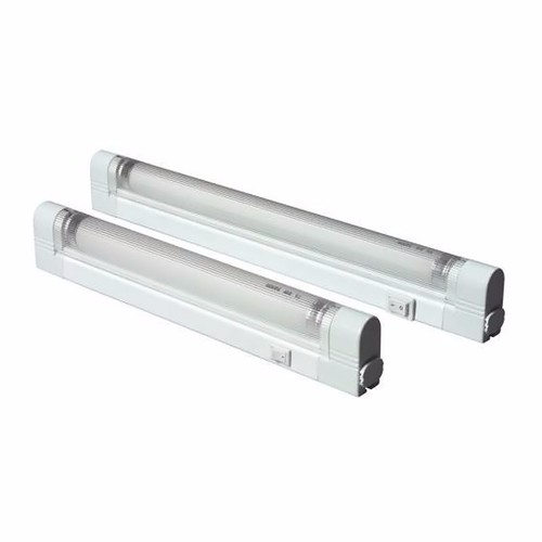 Kingavon 2 Piece T5 8W Under Cabinet Ultra-Slim Kitchen Office Link Light  - Click to view a larger image