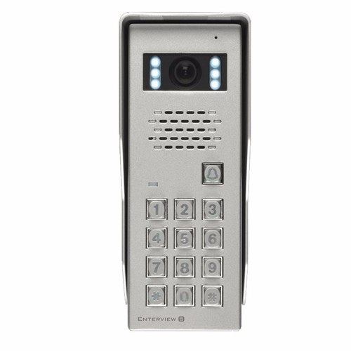 ESP Enterview 5 Color Camera With Access Control Keypad  - Click to view a larger image