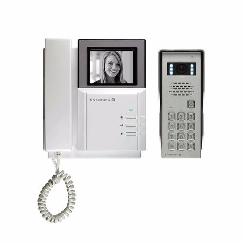 ESP Enterview 5 Black & White Door Entry Intercom Kit & Access Control Keypad EV5KP intercom system with Keypad - Click to view a larger image