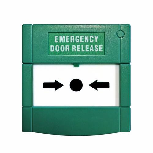 ESP Re-settable Emergency Break Glass Surface Mounted Door Release EVEBG Emergency door Release - Click to view a larger image