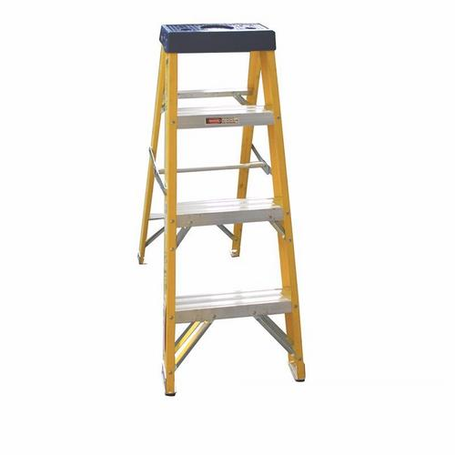 Greenbrook Fiberglass Aluminium Industrial Electricians Extension Folding Ladder  - Click to view a larger image