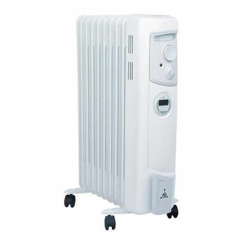 Dimplex 2Kw Oil Filled Electric Portable Column Heater With Programmable Timer OFC2000TI 2kW Oil Filled Portable Heater - Click to view a larger image