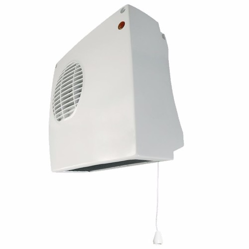 Eterna 2kW Electric Wall Mounted Downflow Fan Heater With Pull Cord & Thermostat Eterna 2000W Adjustable Down-flow Heater - Click to view a larger image