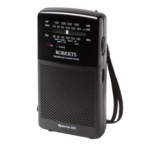 Roberts Sports 925 Portable 3 Band Analogue Battery Radio Sports 925 Portable 3 Band Radio - Click to view a larger image