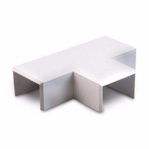 Zexum 16mm x 16mm Mini Trunking Accessories - Flat Tee