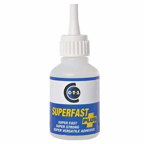C-Tec Super Fast Plus Extra Strength Precision Industrial Bonding Glue  - Click to view a larger image