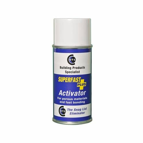 C-Tec Super Fast Plus Adhesive Glue Activator Spray 150ml  - Click to view a larger image