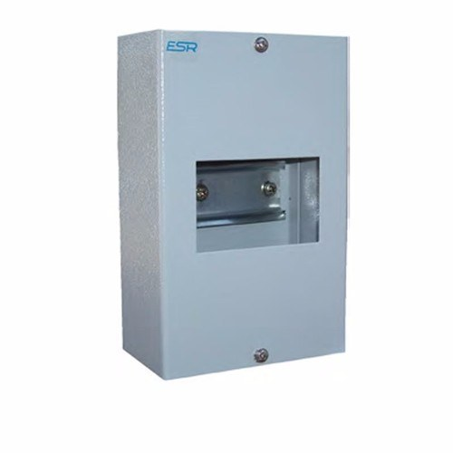 ESR Metal Modular Consumer Unit Enclosure Without Doors  - Click to view a larger image