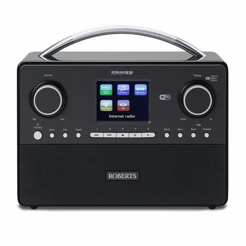 Roberts DAB FM USB Spotify Internet Digital Radio Sound System Roberts Stream 93i DAB FM USB Spotify Digital Radio Sound System - Click to view a larger image