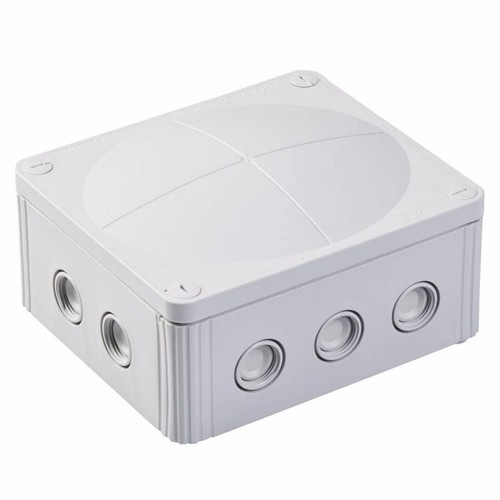 Wiska Combi 1210/5 57A Grey IP66 Weatherproof Junction Adaptable Box Enclosure With 5 Way Connector Wiska Combi 1210/5 57A Grey IP66 Weatherproof Junction Adaptable Box Enclosure - Click to view a larger image