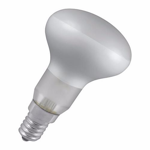 Crompton R50 40W Small Edison Screw SES Dimmable Diffused Reflector Bulb R50 40 Watt Reflector Lamp Small Edison Screw - Click to view a larger image