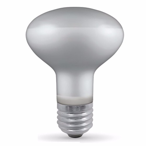 Crompton 60W R80 Edison Screw Reflector Bulb R80 60W Dimmable Diffuser Reflector Light Bulb  - Click to view a larger image