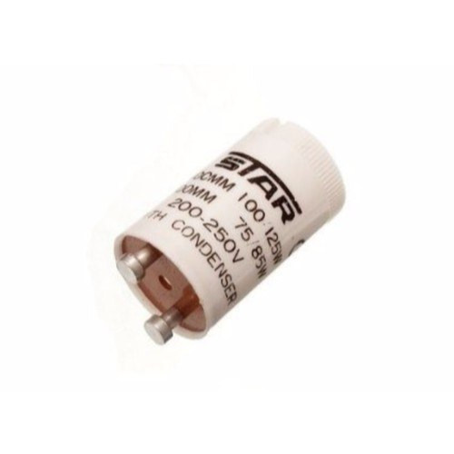 Zexum 4-125W Fluorescent Lamp Light Bulb Starter With Mylar Condenser  - Click to view a larger image