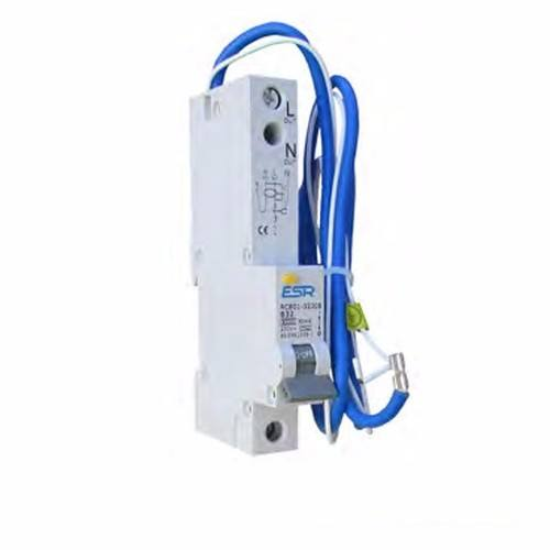 ESR RCBO C Curve 6KA 1 Pole Domestic Consumer Unit Circuit Breaker  - Click to view a larger image