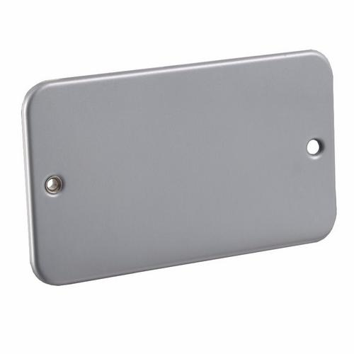 KnightsBridge 2G Metal Clad Industrial Blank Blanking Plate  - Click to view a larger image
