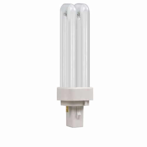 Crompton 10W CFL G24q-1 4 Pin Opal DE Type Bulb Colour Temperature Chart - Click to view a larger image