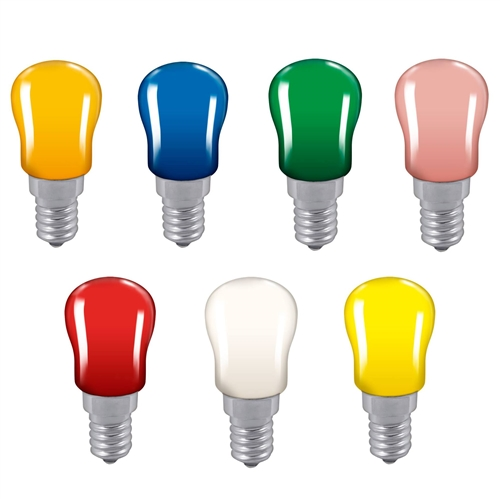 Crompton 15W Sign Display Small Edison Screw SES Pygmy Bulb Crompton 15W Sign Display Small Edison Screw SES Pygmy Bulb Yellow - Click to view a larger image