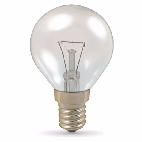 Crompton 40W Heat Resistant Small Edison Screw SES Oven Clear Lamp Crompton 40 Watt SES-E14 Heat Resistant Oven Appliance Clear Lamp Bulb  - Click to view a larger image