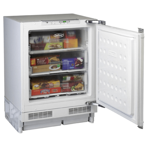Belling IFZ800 96 Litre Integrated Under Counter Freezer - White