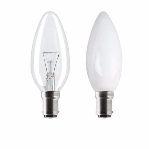 status 25w sbc b15d incandescent candle light bulb free. Black Bedroom Furniture Sets. Home Design Ideas