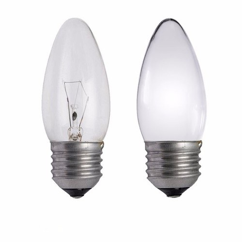 Status 25W Edison Screw Candle Bulb  - Click to view a larger image