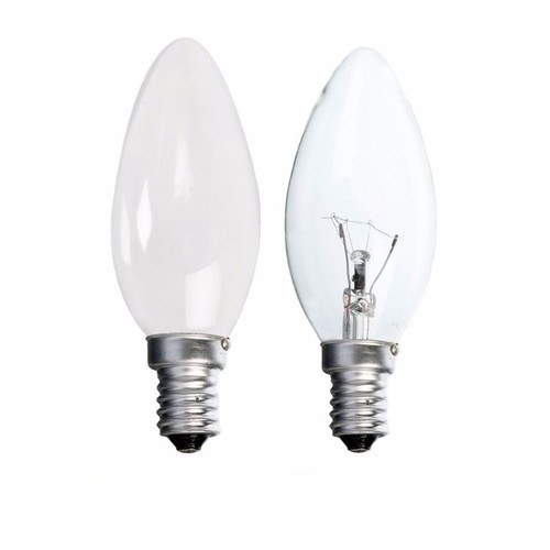 Status 25W SES E14 Incandescent Candle Light Bulb  - Click to view a larger image